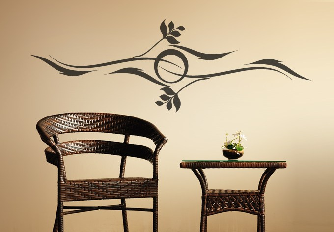 Sun Decal Wall Sticker