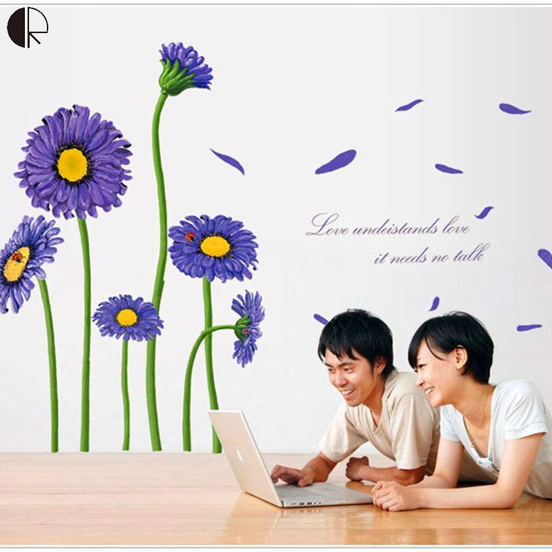 Sunflower Decals For Walls