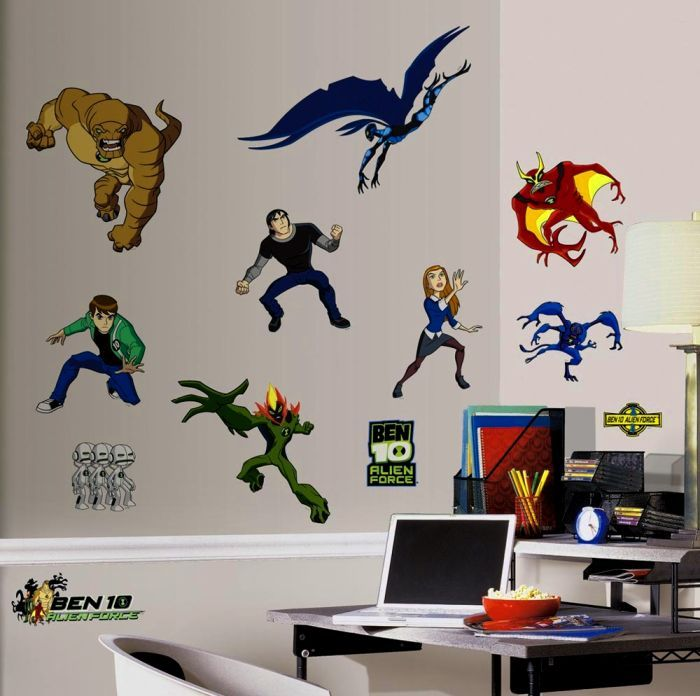Superhero Vinyl Wall Decals