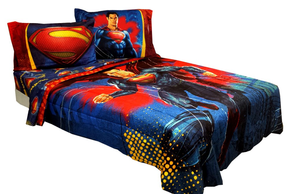Superman Comforter Set Full