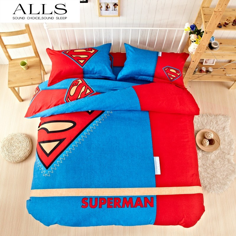 Superman Comforter Set Twin