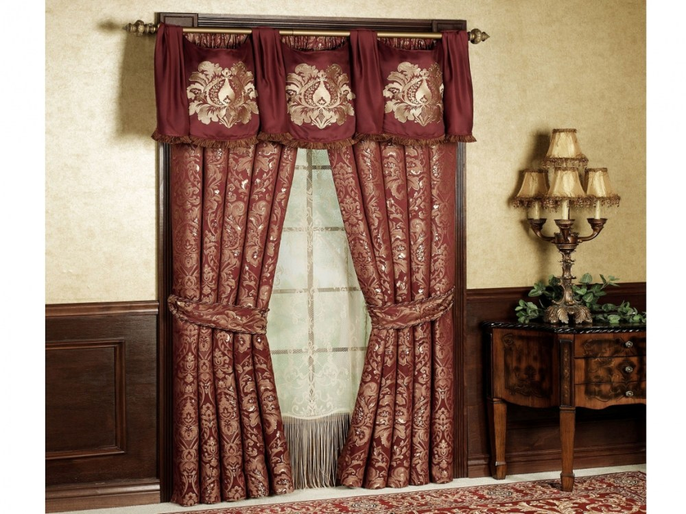 Swags And Valances Window Treatments