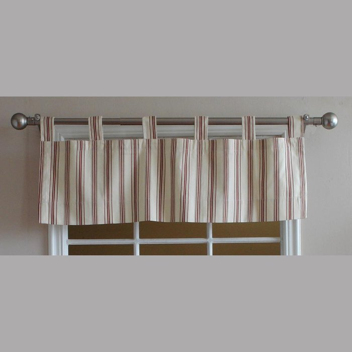 Tab Top Valance Curtains