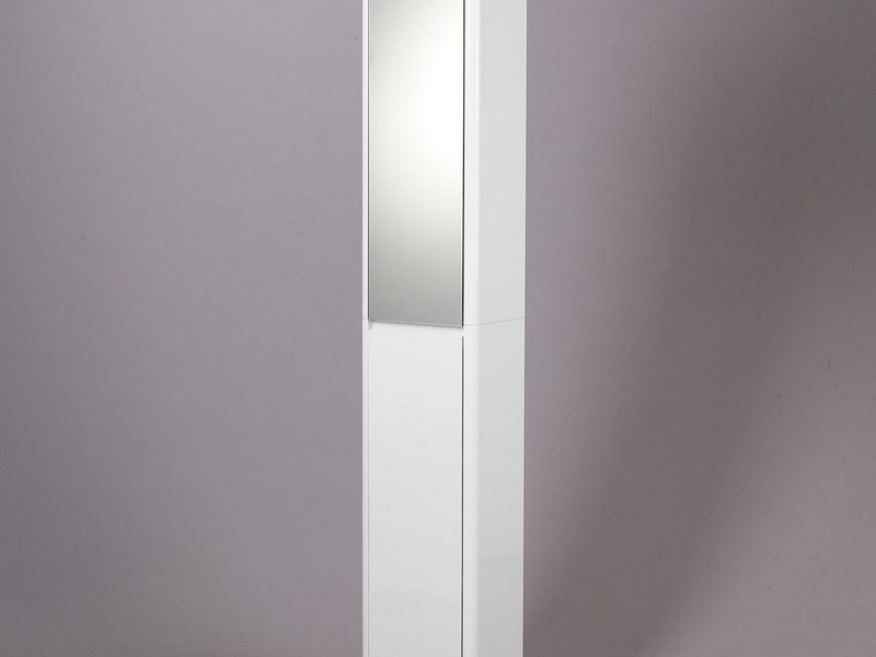 Tall Bathroom Cabinet With Mirror Door