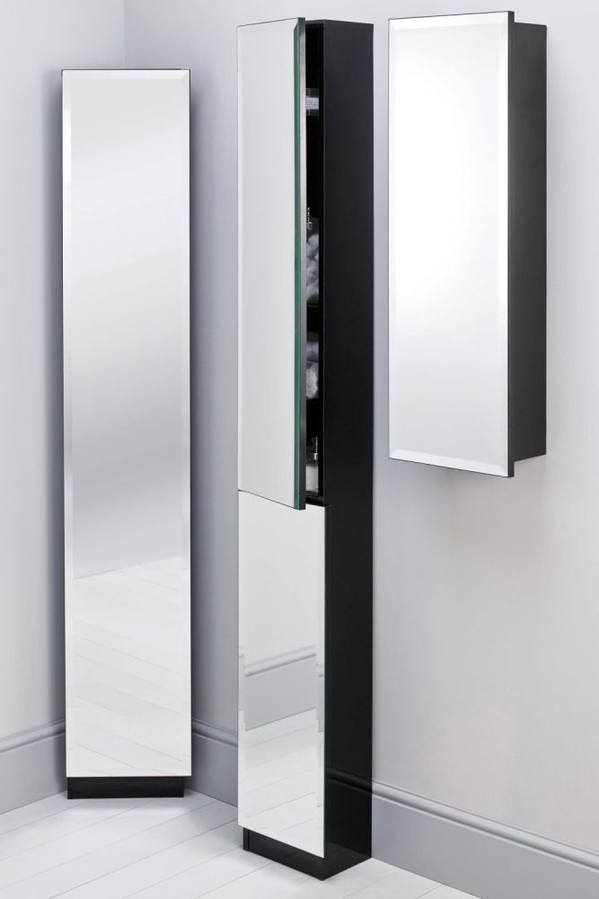 Tall Mirrored Bathroom Cabinets