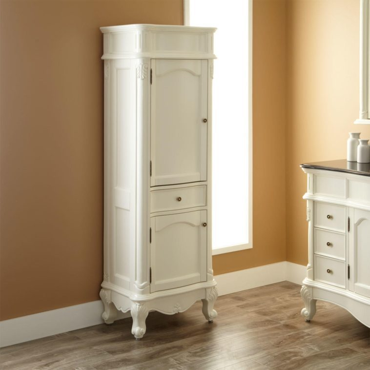 Tall Narrow Bathroom Cabinet With Doors