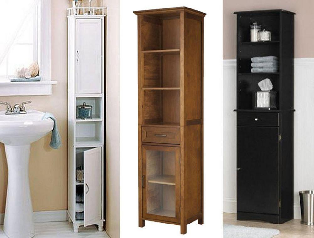 Tall Narrow Bathroom Cabinet