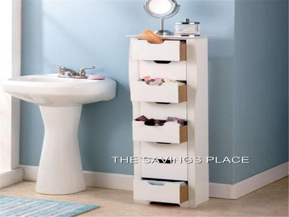 Tall Thin Bathroom Cabinet