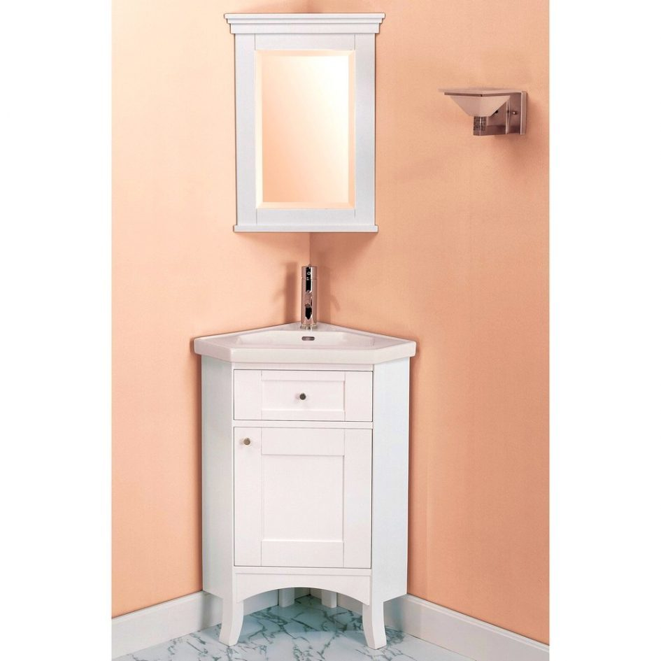 Tall White Corner Bathroom Cabinet