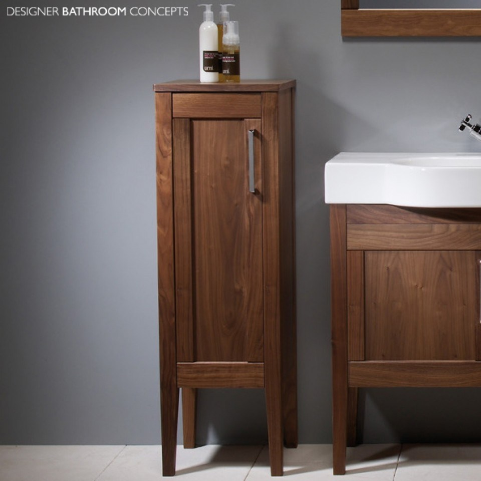 Tall Wooden Bathroom Cabinets