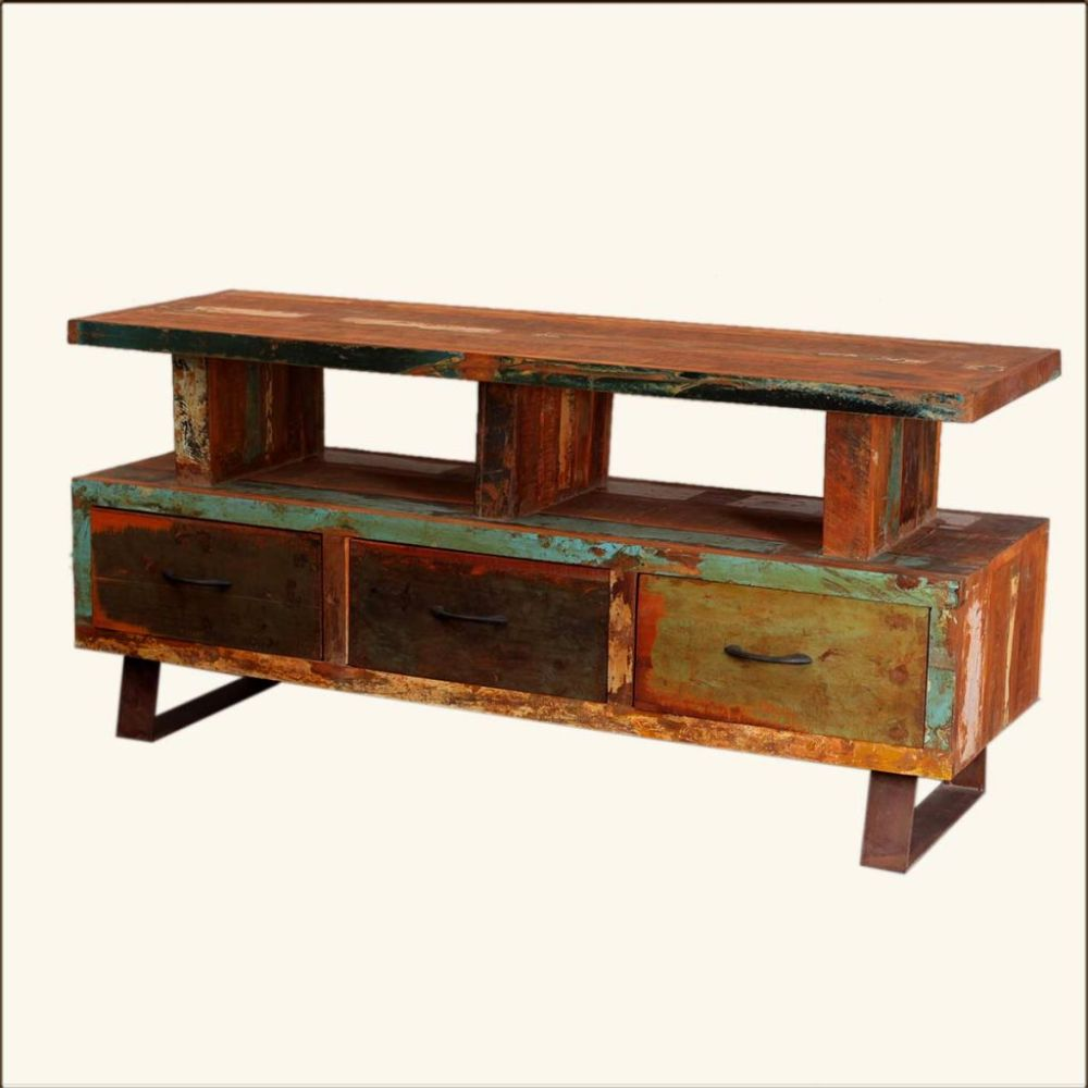 Target Reclaimed Wood Tv Stand