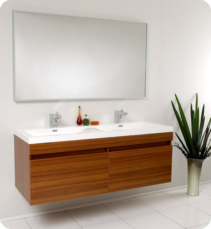 Teak Bathroom Cabinet