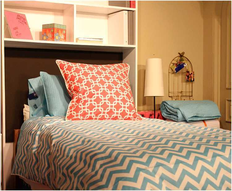Teal And Coral Comforter Set