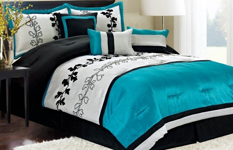 Teal And Purple Comforter Sets