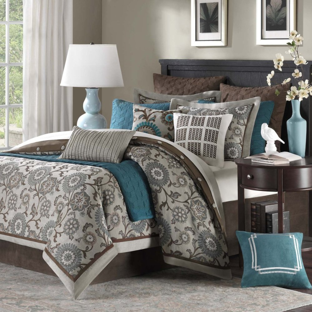 Teal Bedroom Comforter Sets