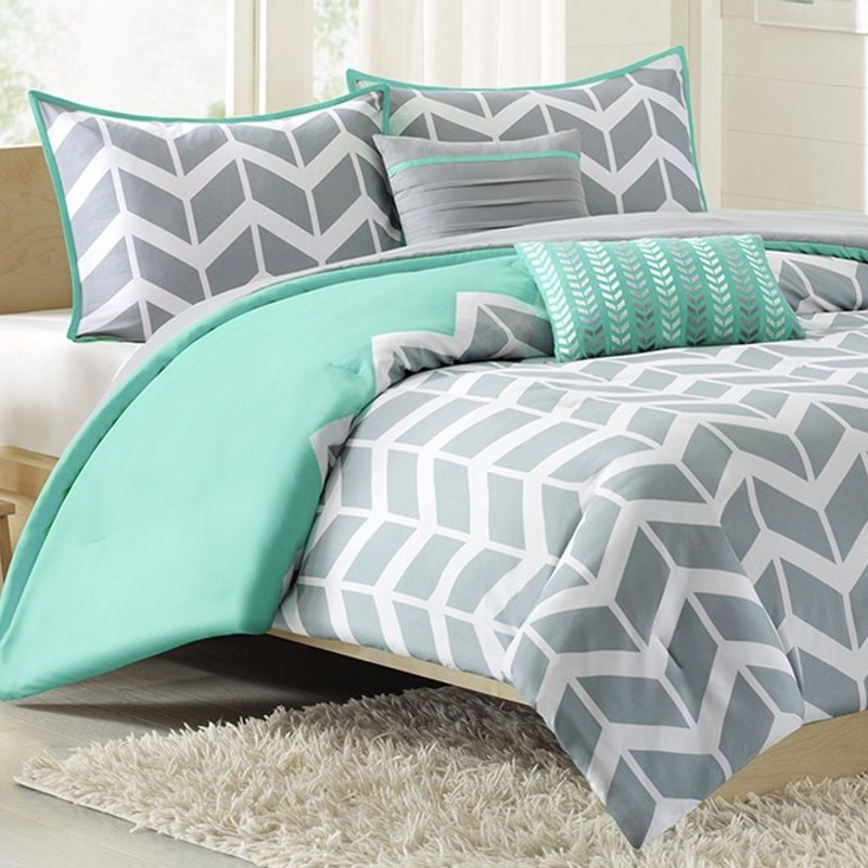 Teal Comforter Sets Twin