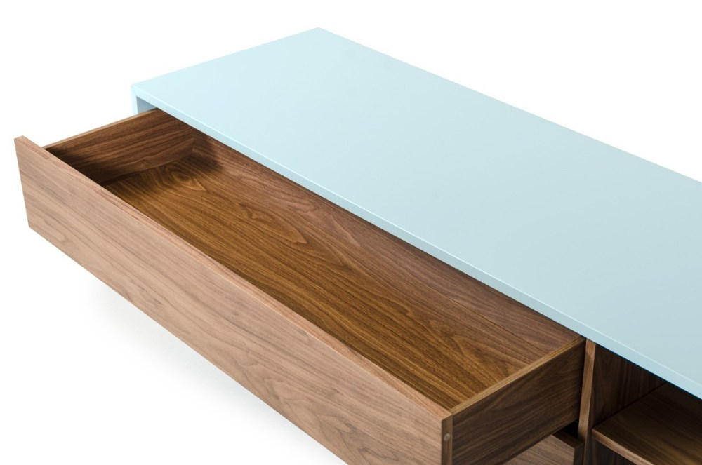 Teal Tv Stand