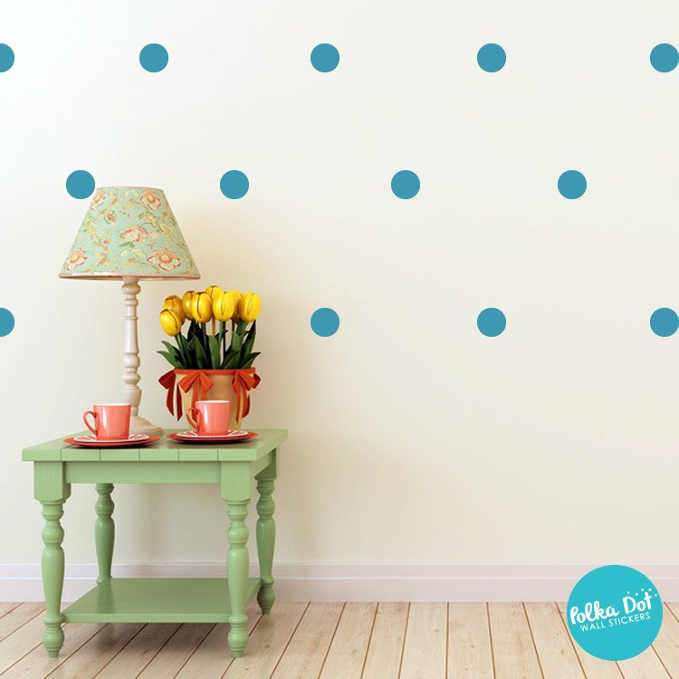 Teal Wall Decals
