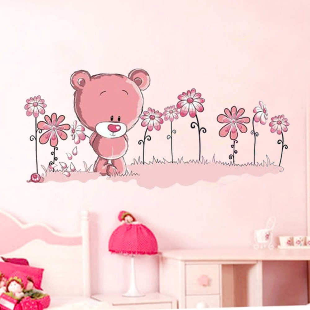 Teddy Bear Wall Decals For Nursery
