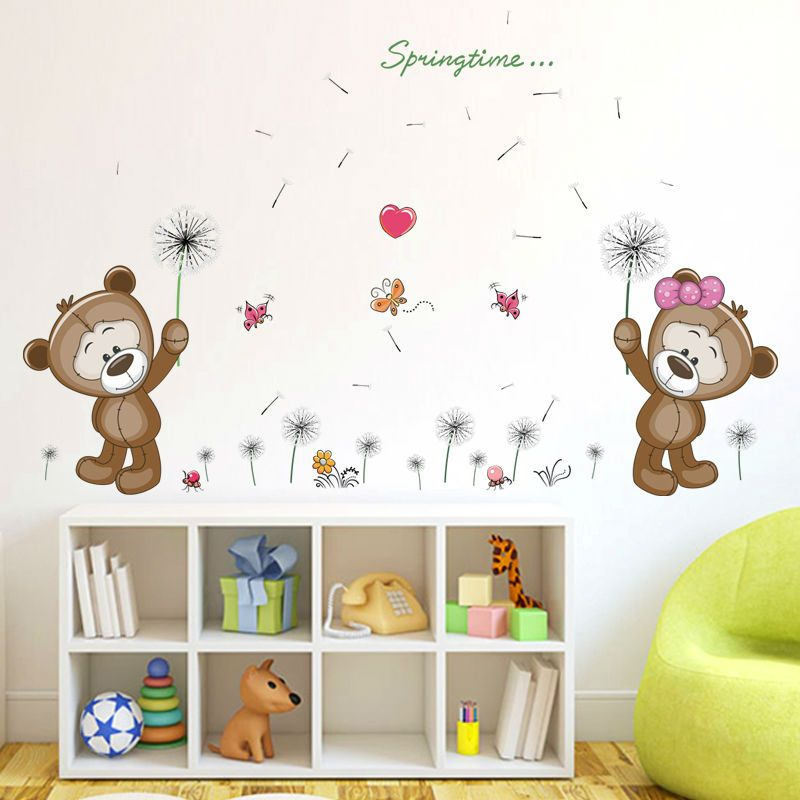 Teddy Bear Wall Decals