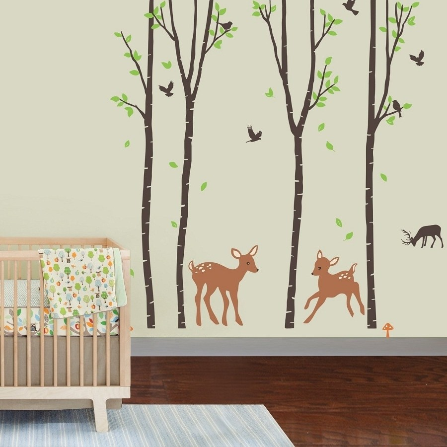 Toddler Girl Room Wall Decals