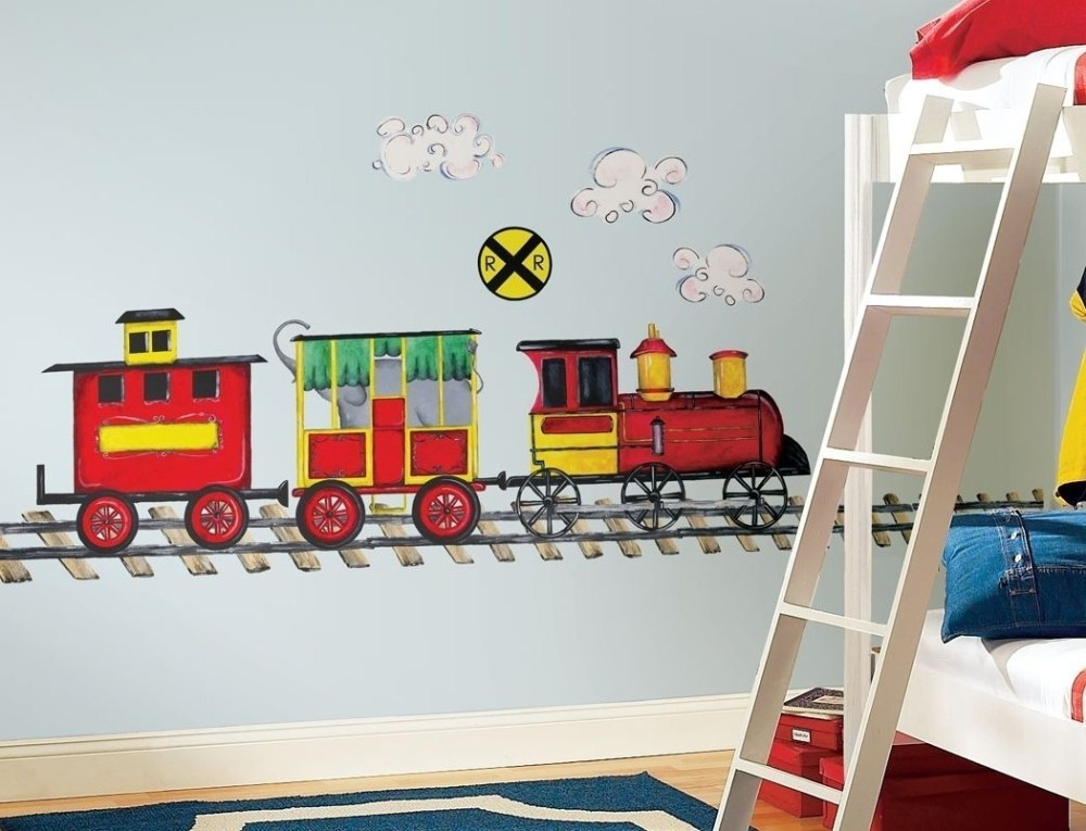 Train Wall Decals For Nursery