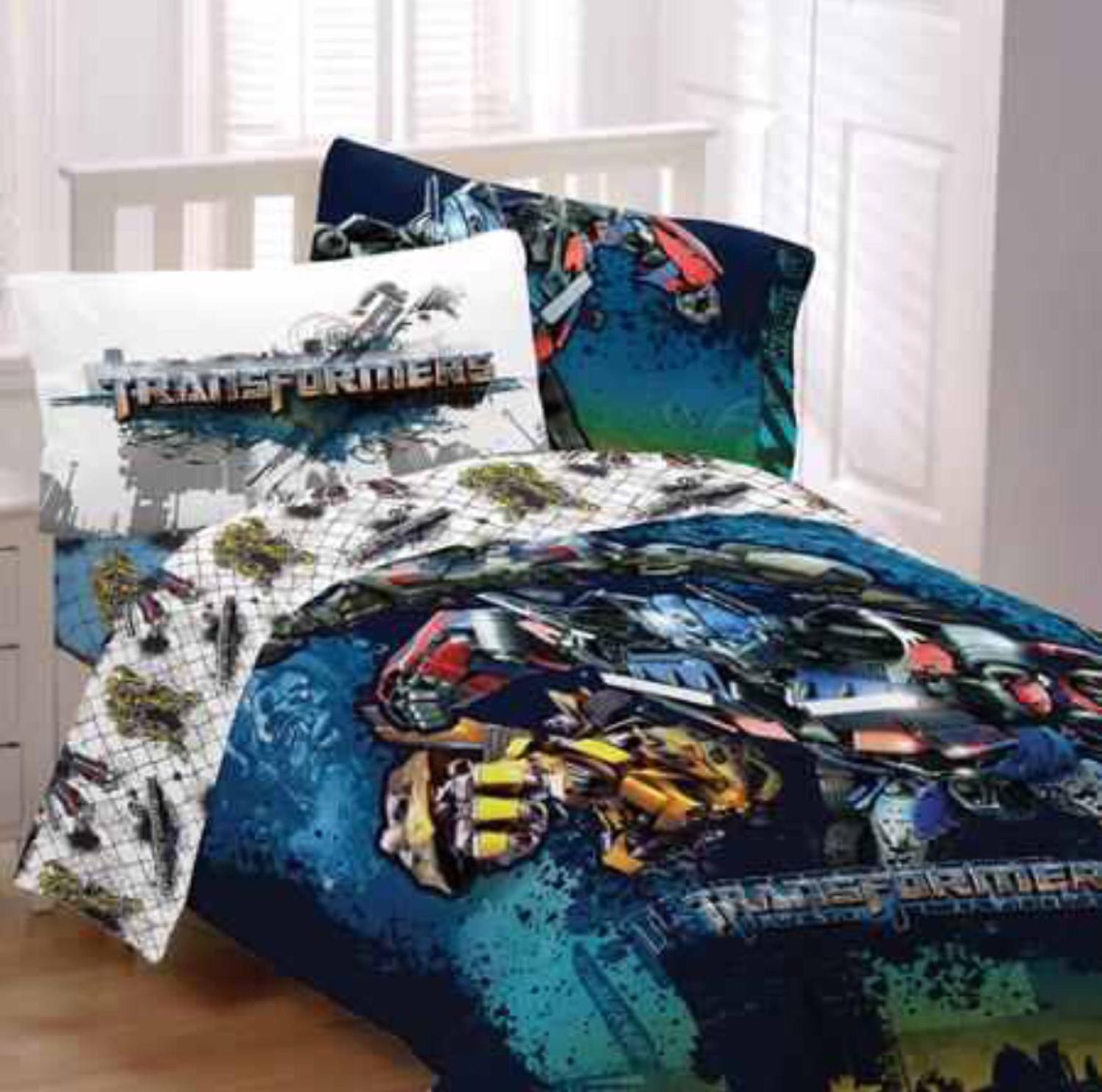 Transformers Comforter Set Full Size