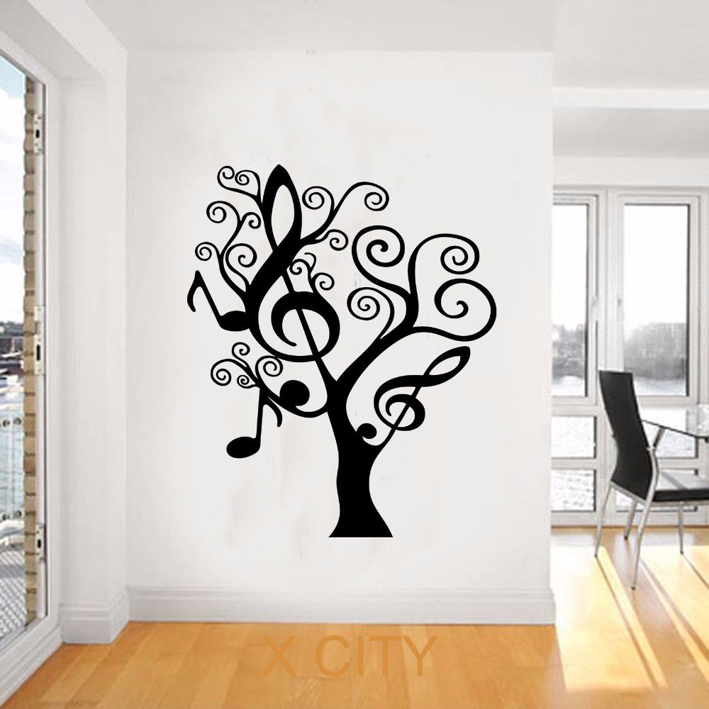 Tree Silhouette Vinyl Wall Art Decal
