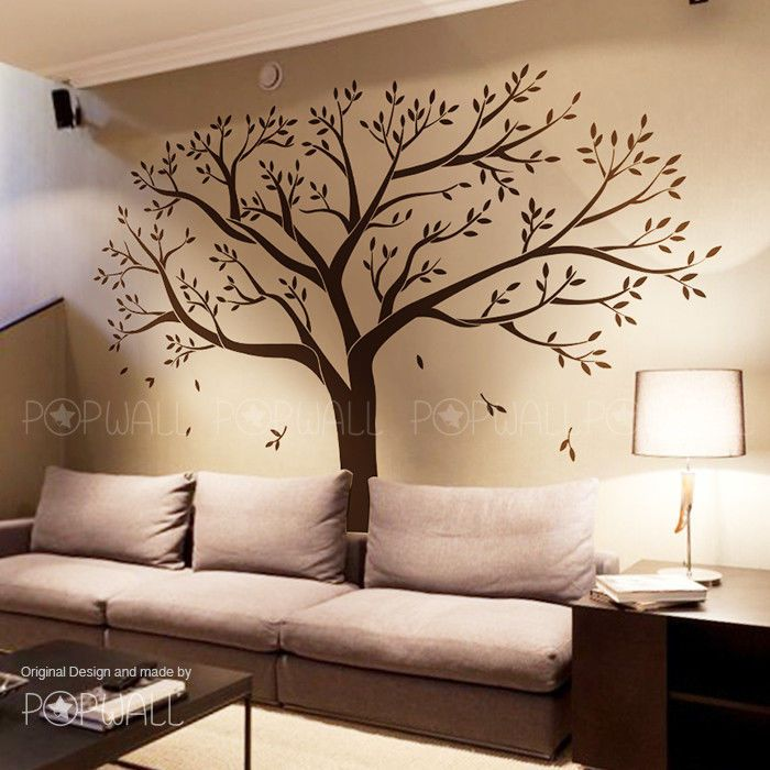 Tree Wall Art Decals Vinyl Sticker