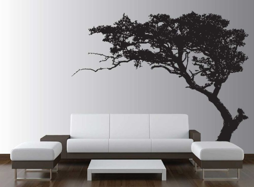 Tree Wall Decals For Living Room