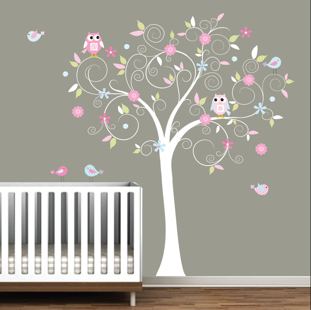Tree Wall Decals Nursery