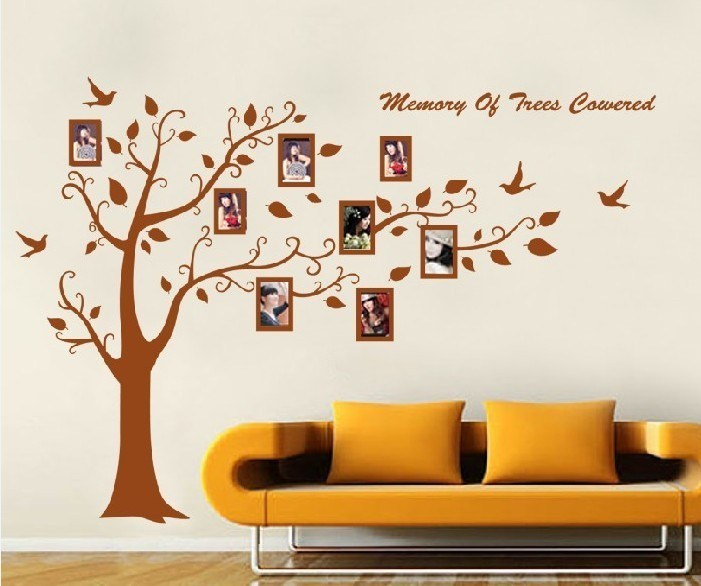 Tree With Frames Wall Decal