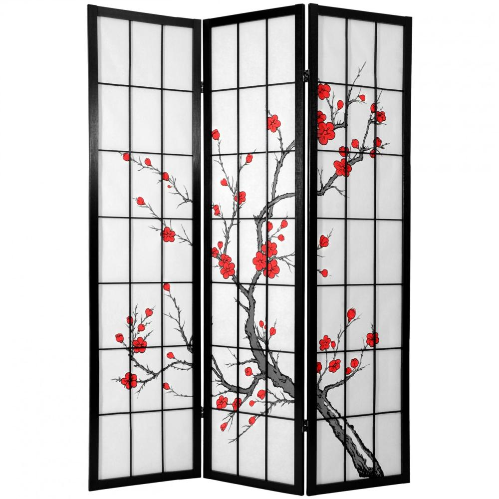 Tri Fold Room Divider Screens