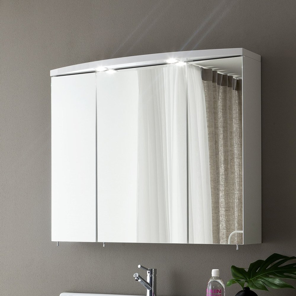 Triple Mirror Bathroom Cabinet
