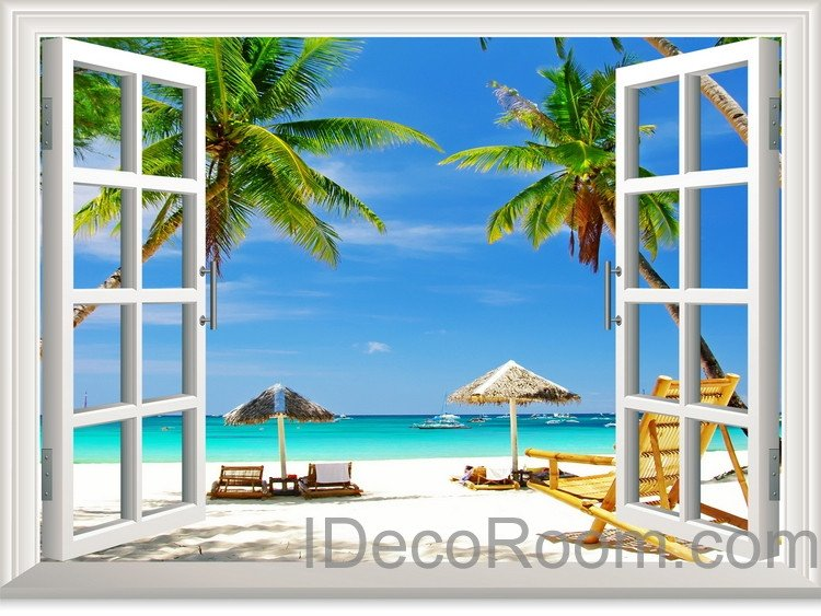 Tropical Wall Decals Removable