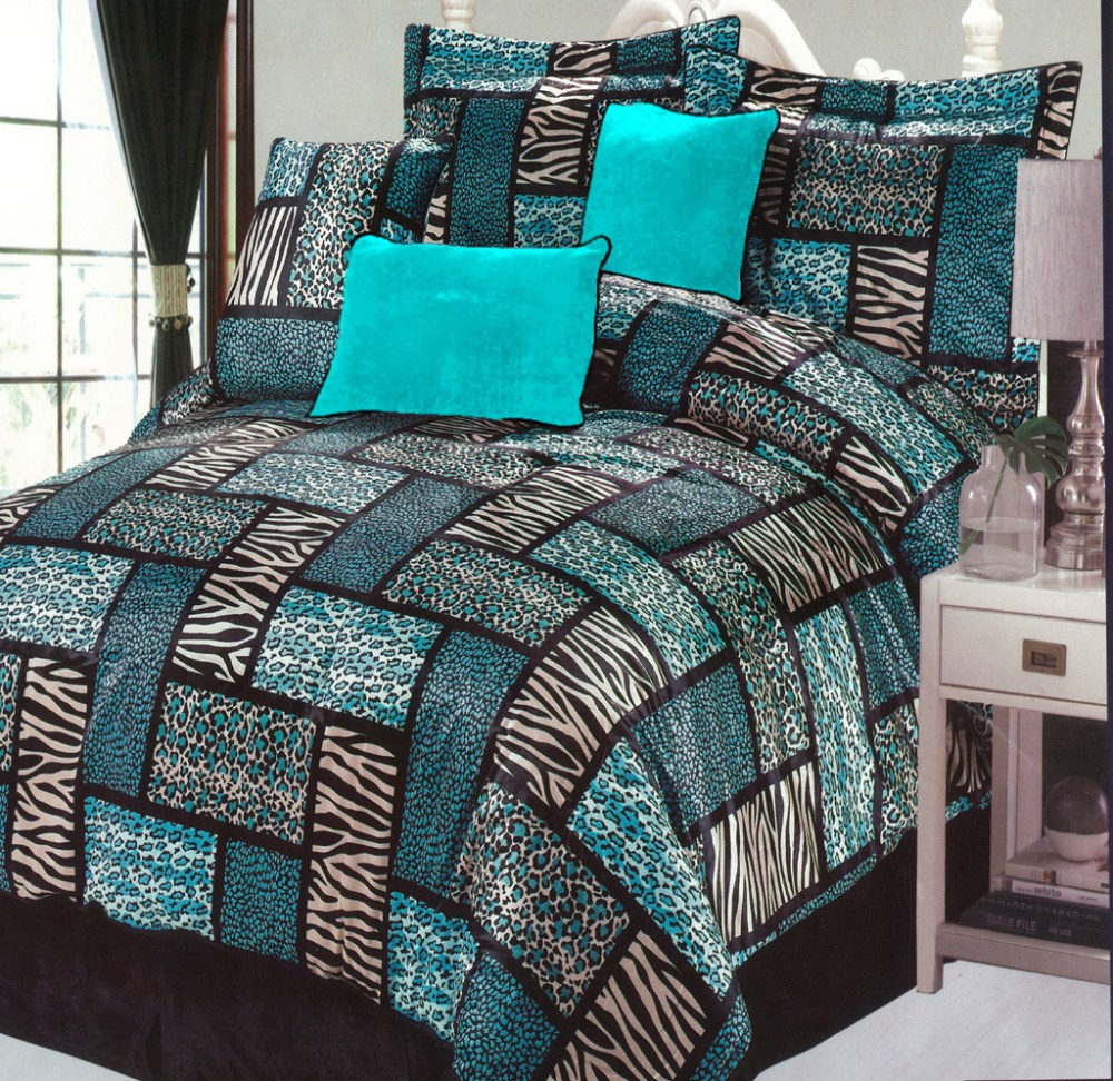 Turquoise Comforter Sets