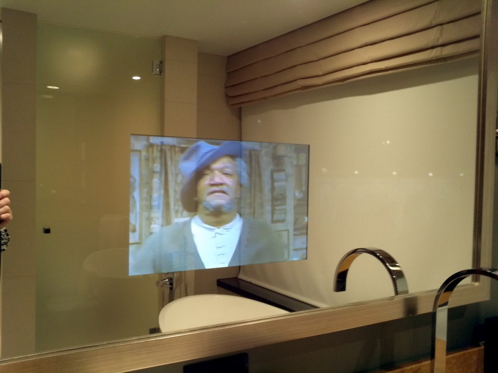 Tv In Mirror Bathroom Cost