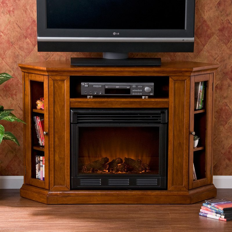 Tv Media Stands With Fireplace