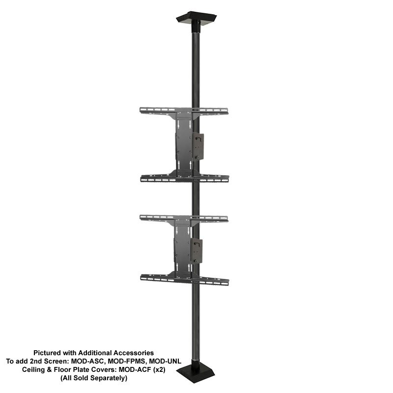 Tv Pole Floor Stand