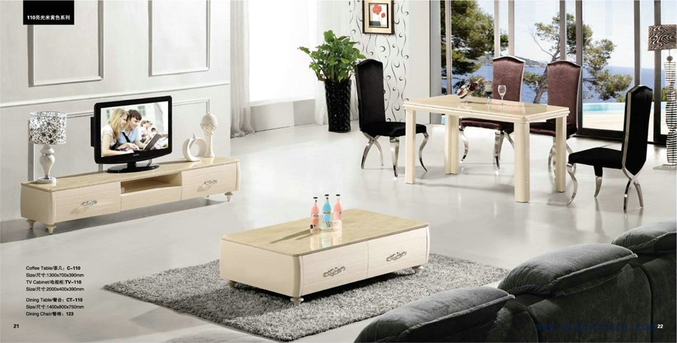 Tv Stand And Coffee Table Set