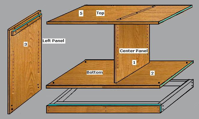 Tv Stand Cabinet Plans