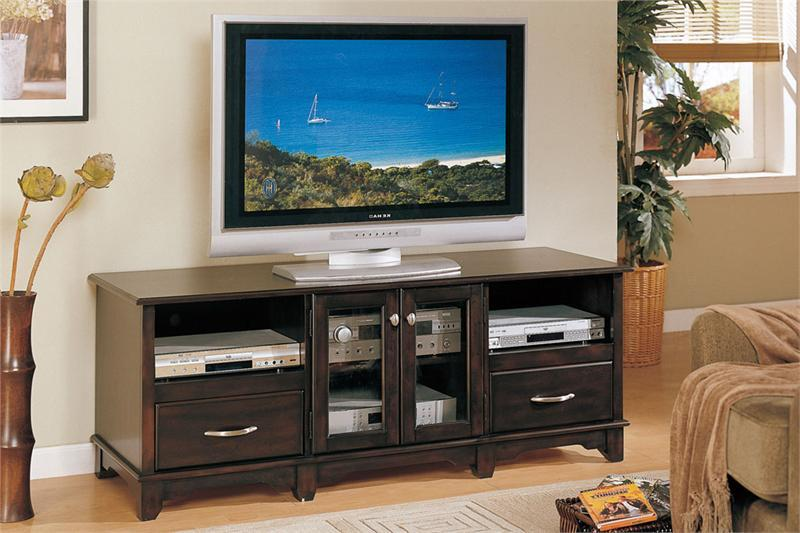 Tv Stand Dark Brown