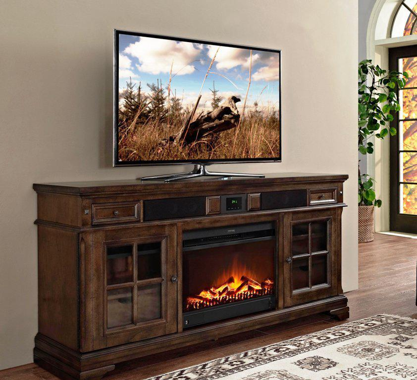 Tv Stand Fireplace Costco