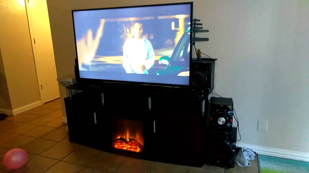 Tv Stand Fireplace Walmart
