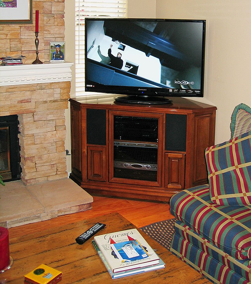 Tv Stand For Corner Wall