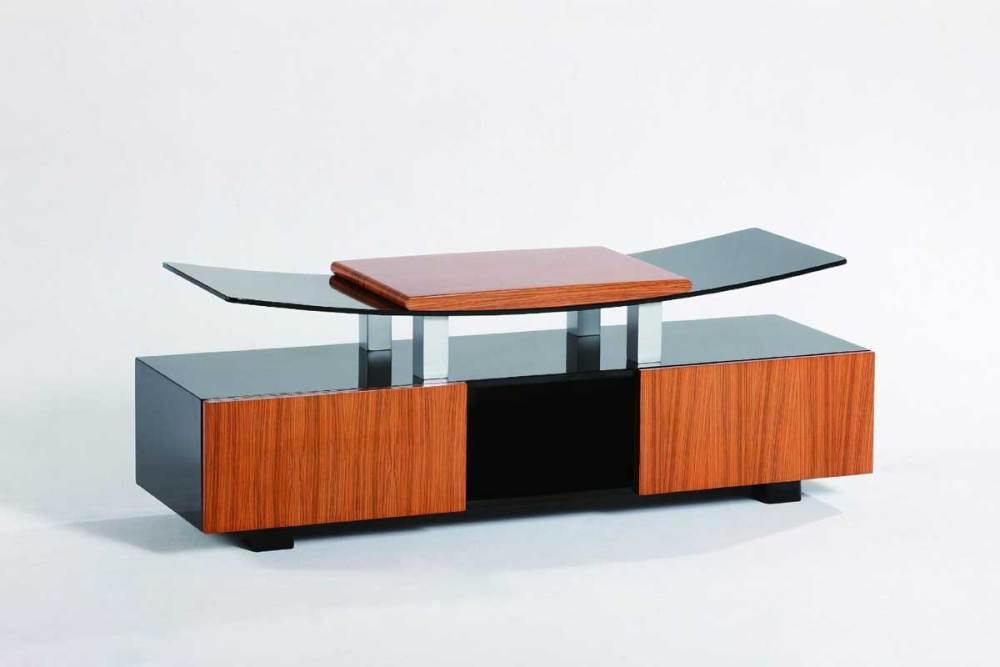 Tv Stand Glass And Wood