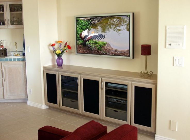 Tv Stand On Wall Mount