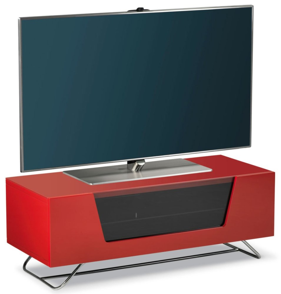 Tv Stand Red