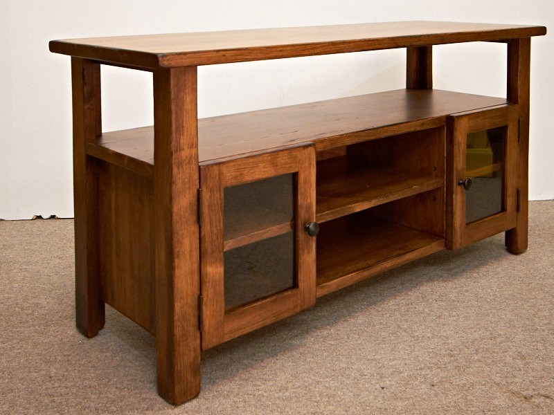 Tv Stand Rustic Wood