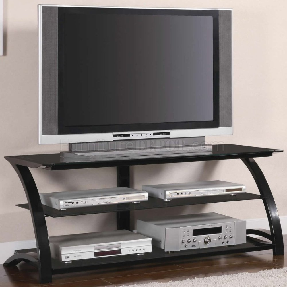 Tv Stand Tempered Glass Shelves